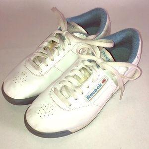 Vintage 90s Reebok Classics Princess Sneakers Sz 7